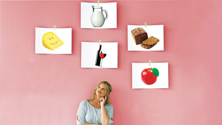 Skoraj 30 odstotkov ljudi je prepričanih, da ne prenašajo določenih živil. Ali je res tako? (foto: revija Lisa)