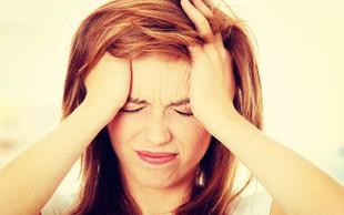 Za glavobolom se lahko skriva marsikaj