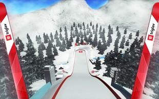 Prvič v Sloveniji edinstvena izkušnja smučarskih skokov z Oculus Riftom