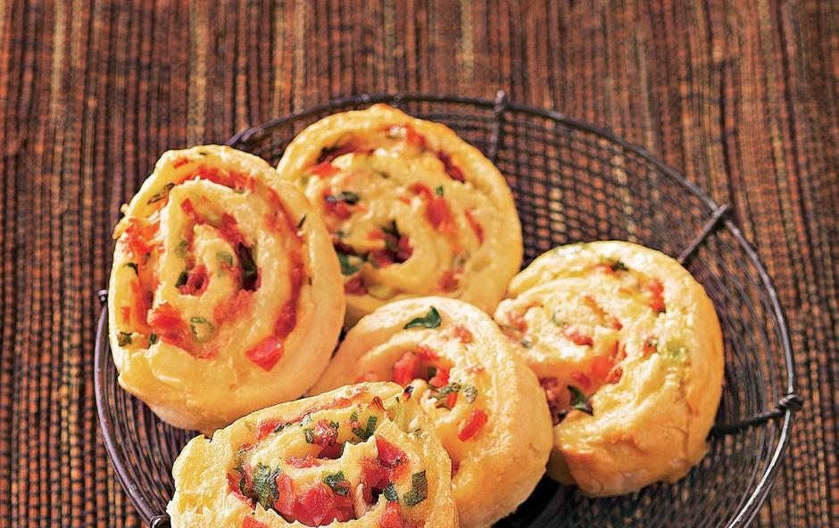 Pikantni pica polžki (foto: jalags)