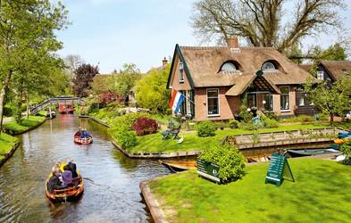 Evropska mesta, ki plavajo na vodi in se širijo po kanalih
