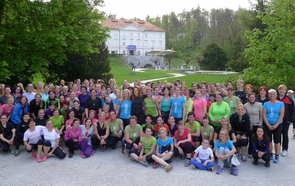 Na 10. dm tek za ženske se pripravlja tudi Nina Pušlar (foto: dm - drogerie markt)