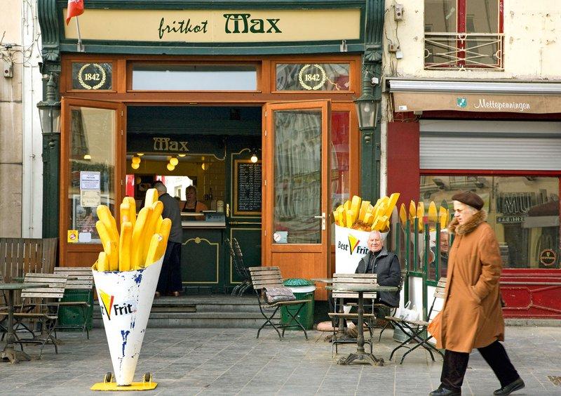 belgija, krompirček