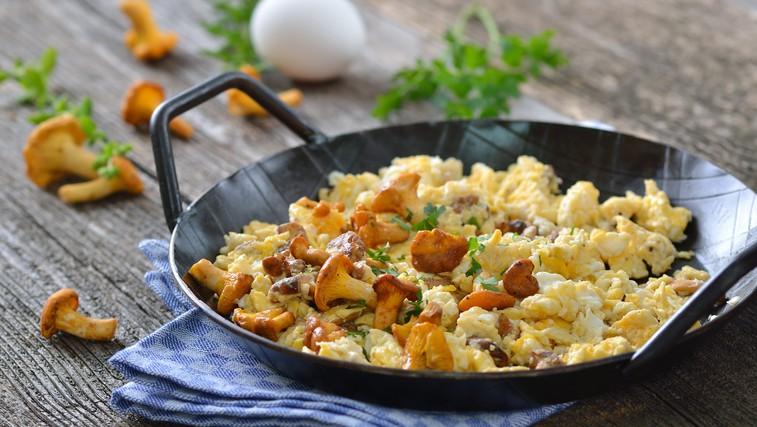 Umešana jajca na štiri načine (foto: Shutterstock.com)
