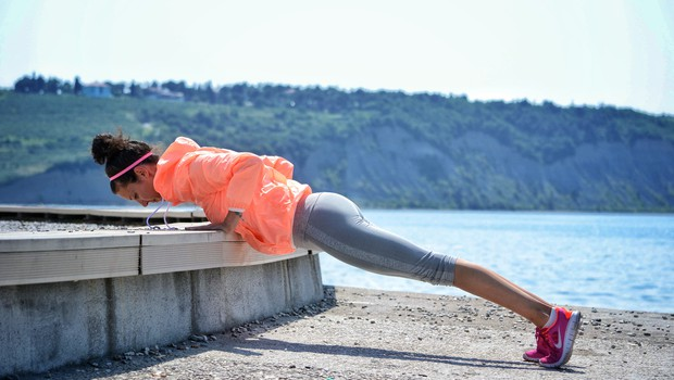 Ubijalski način kurjenja kalorij na dopustu (foto: Nuša Gnezda)