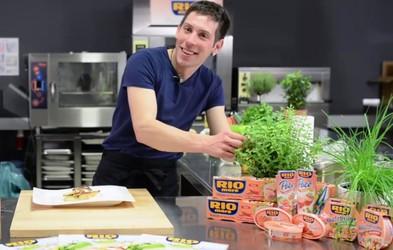 Recept: File skuše na gorčičnem pireju
