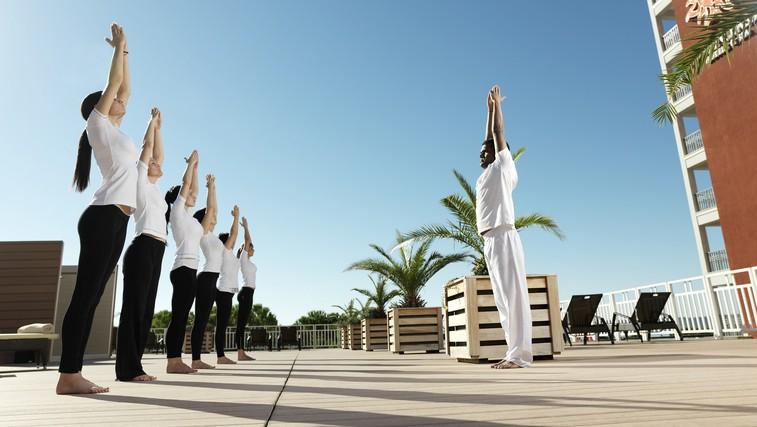 Rekreacija na sončni terasi (foto: LifeClass)