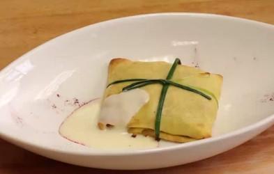 Video: Tunin žepek iz palačink po receptu Valeria Lutmana