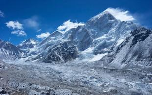 Mount Everest še vedno raste
