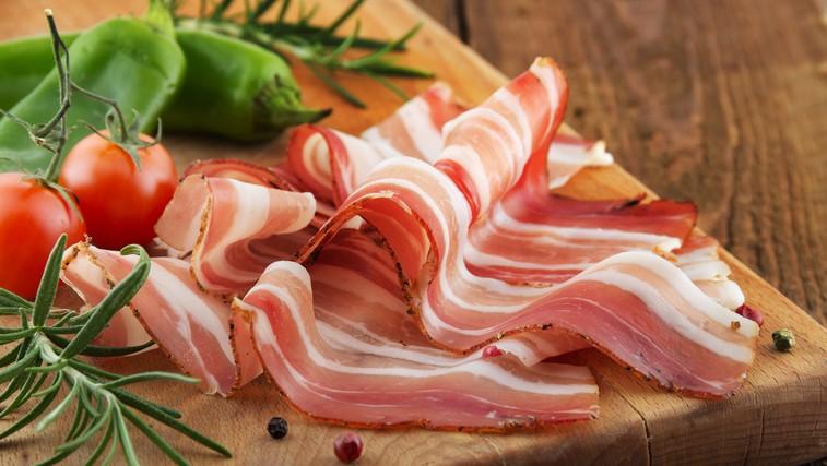 Kaj dobimo, če 'hladno stisnemo' slanino? (foto: Shutterstock.com)