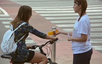 Osvežitev za kolesarje