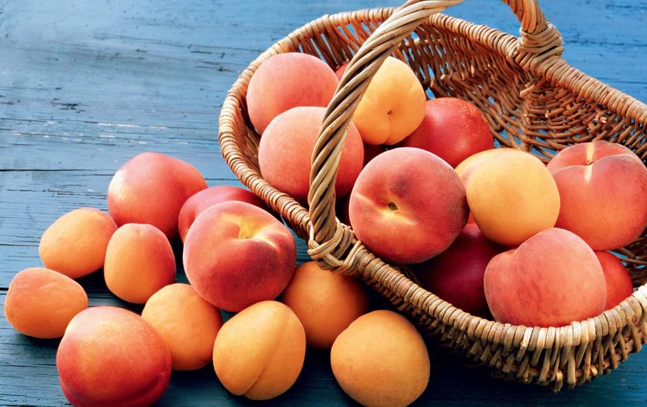 Breskve in marelice - sladki sadeži v oranžni barvi (foto: Revija Čarovnija okusa)