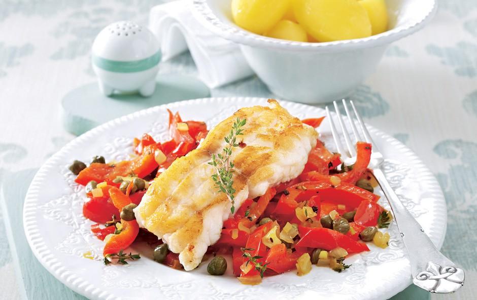 Recept: Riba na papriki