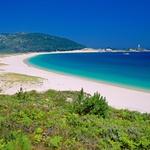 Paradiž ob Atlantiku, s pogledom na otočje Cies, ki sega v nacionalni park. (foto: Profimedia)