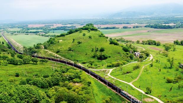 Transsibirska železnica - najdaljša železniška proga na svetu (foto: profimedia)
