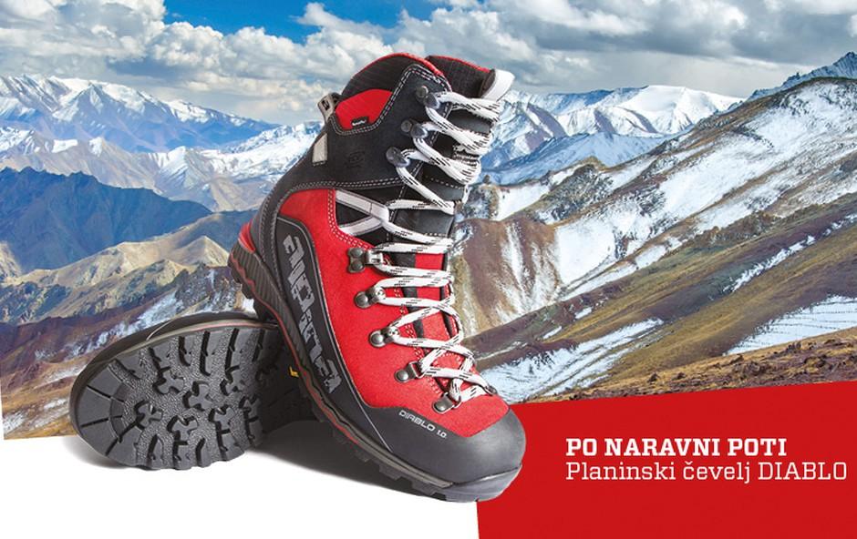 Gorniški in športni čevlji Alpina - za izkušene hribolazce in pohodnike (foto: Alpina Žiri)