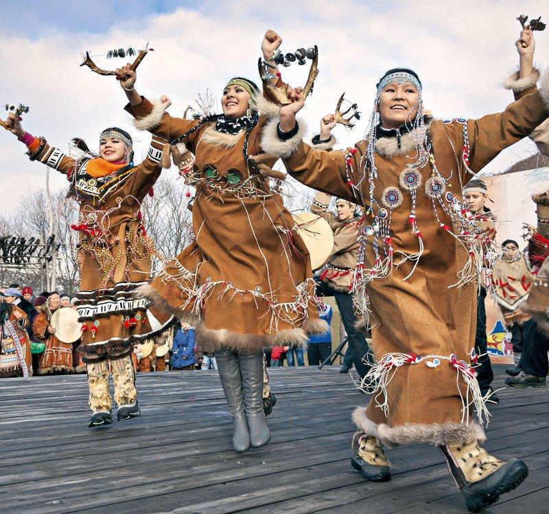 ljudstva iz Kamčatke