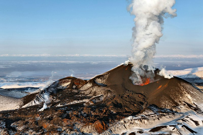 kamčatka, vulkan
