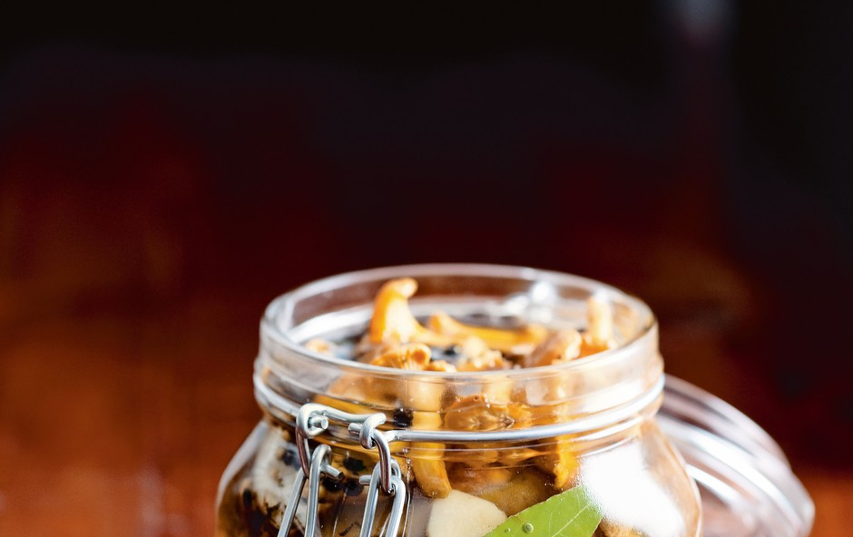Odličen recept za vlaganje gob (foto: revija Čarovnija okusa)