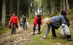 V soboto bo na Pokljuki že tradicionalni zaključek akcije Očistimo naše gore