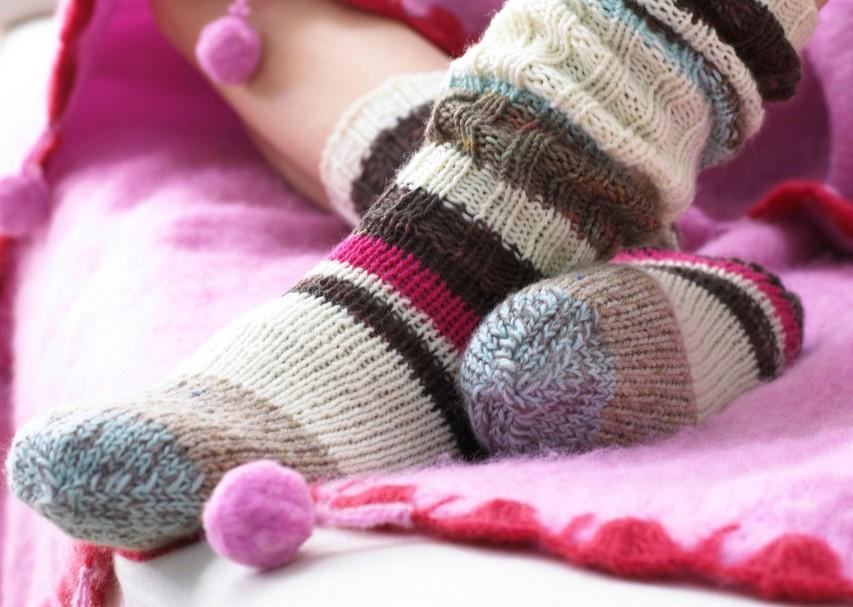 Kako segreti vedno mrzle noge?