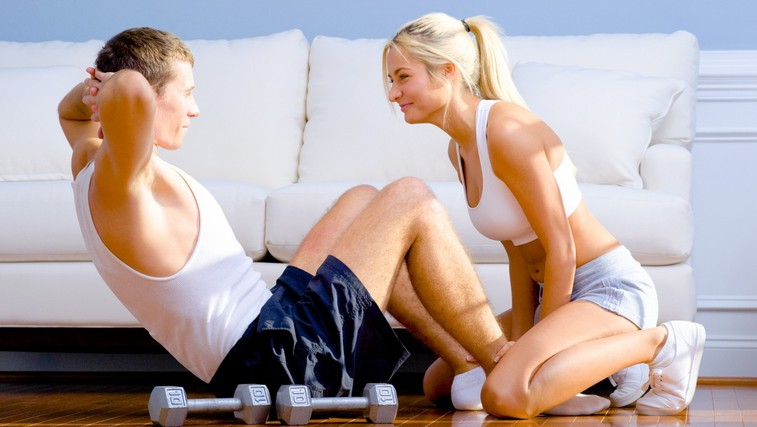 Tako preprosto spremenite svoj dom v telovadnico (foto: Profimedia)