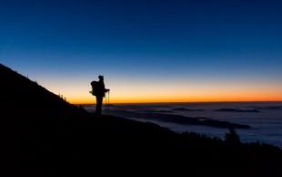 FOTO: Čudovit pogled z dvatisočaka - Kalški greben