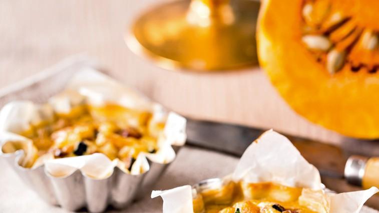 Vegetarijansko: Bučne mini pite (foto: Arhiv revije Lisa)