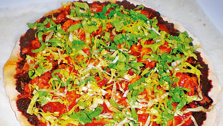 Zdrava različica pice (foto: Osebni arhiv)