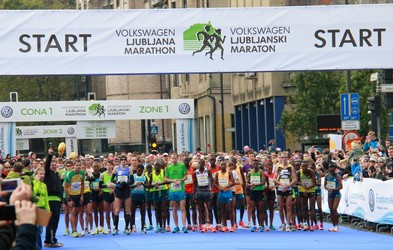 Ljubljanski maraton je pred vrati - odmislite dejstvo, da ste na tekmi