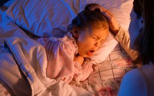 Kaj lahko doma, brez zdravil, naredite za omilitev kašlja pri otroku