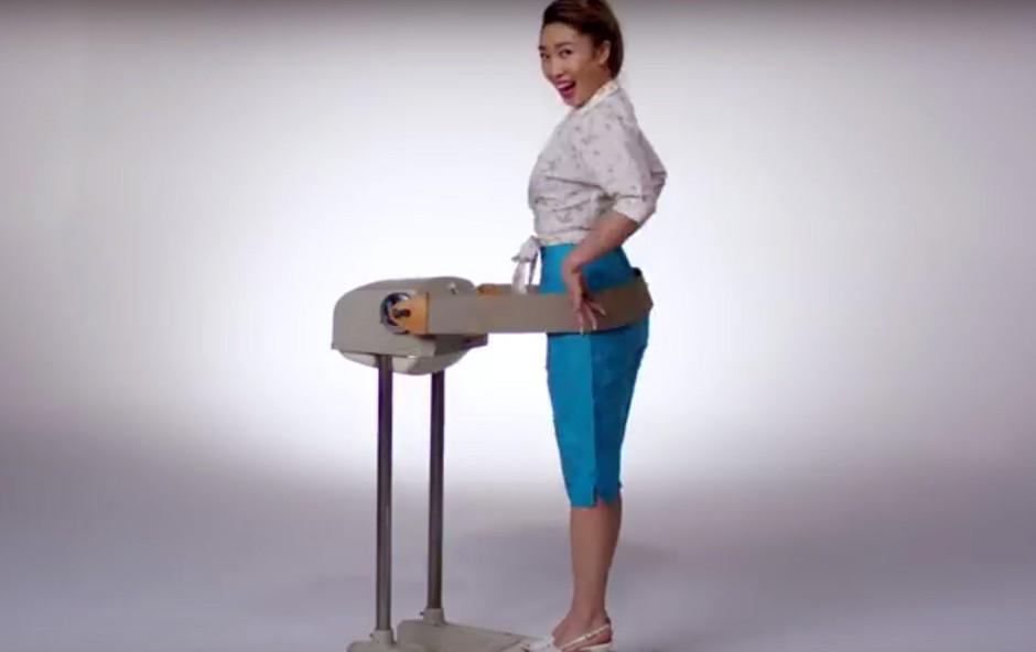 VIDEO: 100 let fitnes trendov v treh (zabavnih) minutah