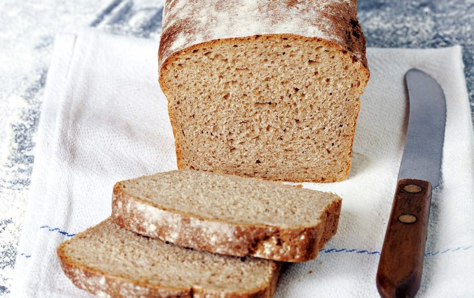 Pirin kruh brez kvasa (foto: Profimedia)