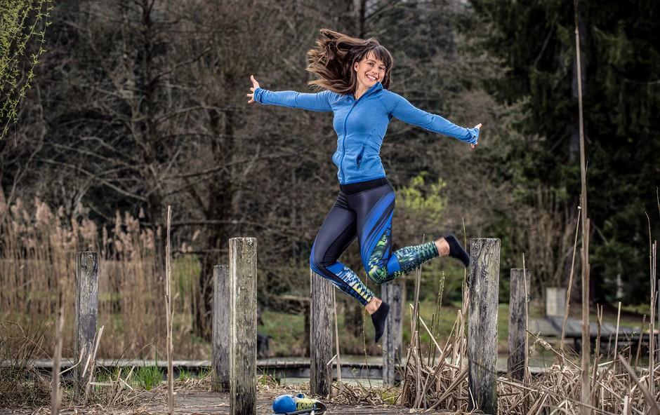 60-dnevni izziv z osebno trenerko Hano Verdev: Vitalni v poletje (foto: Klemen Razinger)