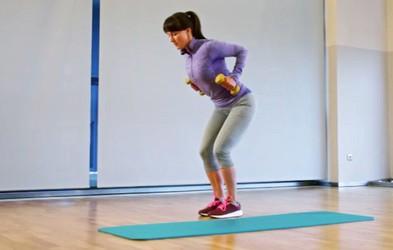 Izziv s Hano Verdev: Trening zgornjega dela telesa (1. teden)