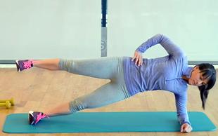 Izziv s Hano Verdev: Vaje za trebušne mišice (4. teden)