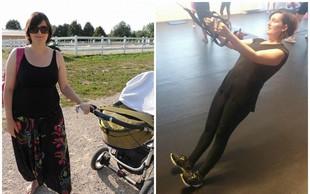 FOTO: Kako je Slovenki Tjaši uspela preobrazba, ki je mnogim v navdih