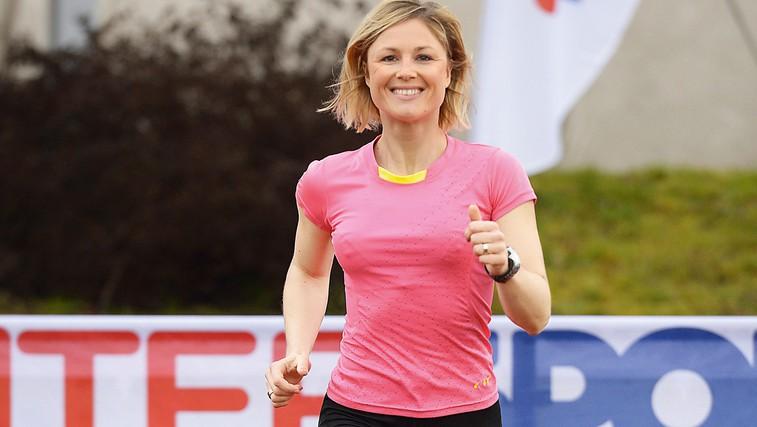 Jerca Zajc Šušteršič: Med maratonom sem razmišljala, kako lepo in srečno življenje imam (foto: Primož Predalič)