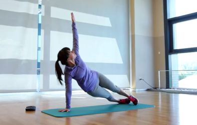 Izziv s Hano Verdev: Vaje za trebušne mišice (7. teden)