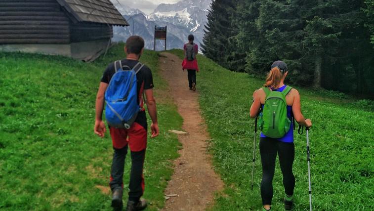 Pohodniški izziv: Vzpon proti vrhu treh dežel – Tromeji nad Ratečami (foto: Osebni arhiv)