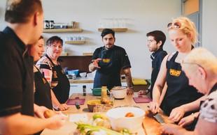 Ko mojstri kuhinje in prehrane združijo moči. Rezultat: slasten obrok za vse gurmane
