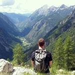 Pohodniški izziv: Ko prideš gor, vid'š dol (foto: Osebni arhiv)