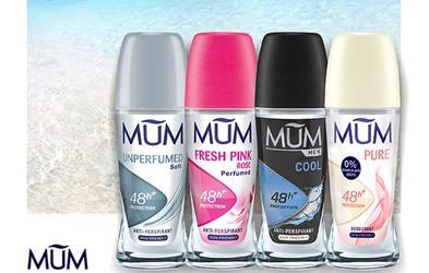 Spoznajte novo družino odličnih in koži prijaznih dezodorantov MUM