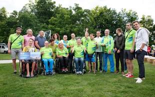 FOTO: Navdihujoč večer s paraolimpijci ob odprtju fotografske razstave 'Energija navdiha'