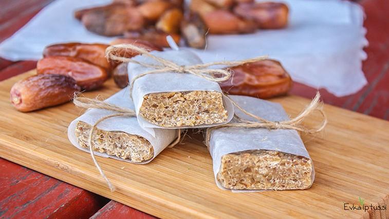 Recept: Proteinske ploščice iz 3 sestavin (foto: Eva Žontar)
