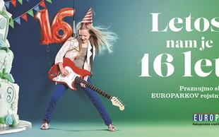 Europarkovo praznovanje: dobra glasba in otroško raziskovanje