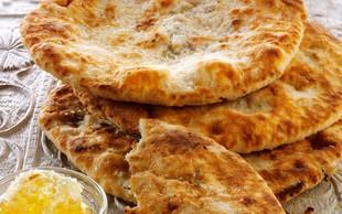 Tako pripravite indijski kruh iz ponve
