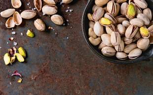 Dieta s krepčilnimi oreščki - pistacijami