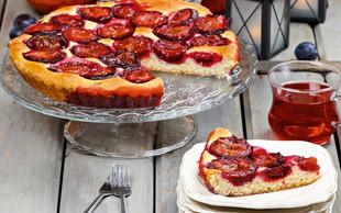 RECEPT: Slivov kolač iz pekača
