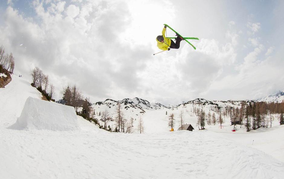 Smučar in ekstremni športnik Bine Žalohar: »Živim v trenutku.« (foto: Chris Wellhausen)